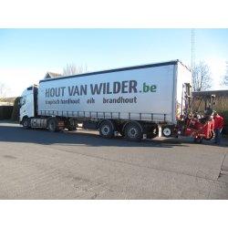 De levering van brandhout door guy van wilder uit gent for Uit de hand te koop oost vlaanderen